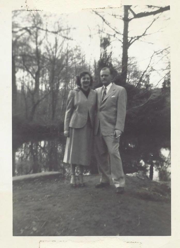Doreen McGettigan's grandparents, Peg and Ellsworth Bowker.