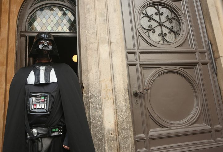 """""""Darth Vader"""" is being questioned by the FEC."""