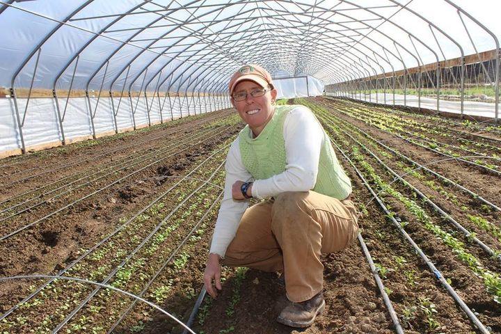 LizGraznak, owner of Happy Hollow Farm in central Missouri.