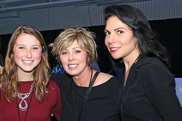 Stepmom Andi Abraham, right, said she couldn't have forged a relationship with her stepdaughter Ali, left, without the support of Ali's mom Teena (middle).