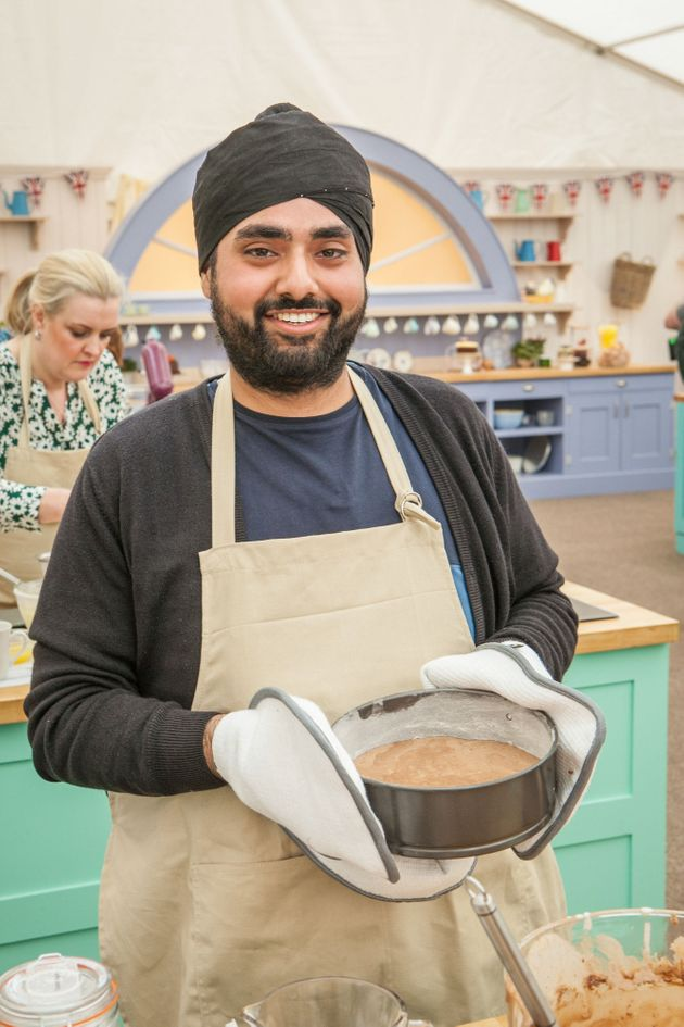 Rav Bansal is appearing on this year's 'Bake