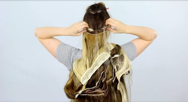 100 Layers Of Hair Extensions Looks Like Pinterest