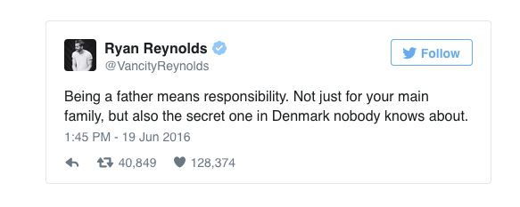 18 Tweets That Prove Ryan Reynolds Is Nailing