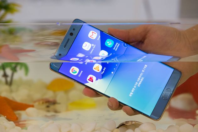 Samsung Galaxy Note 7 Recall Announced After Reported
