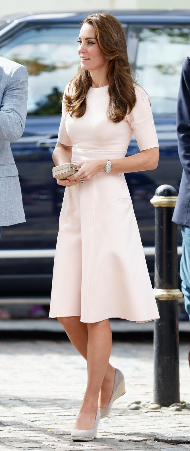 The Duchess Of Cambridge Is Wearing Pants From