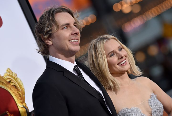 Dax Shepard and Kristen Bell in March.