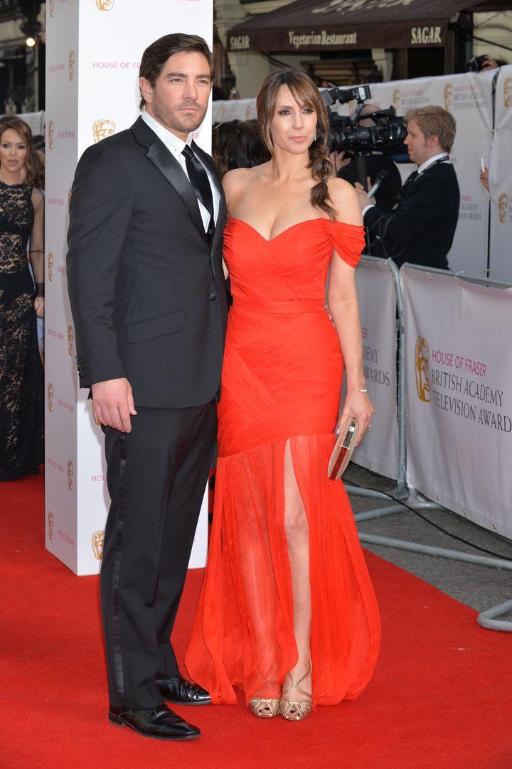 Alex Jones and her husband Charlie Thompson