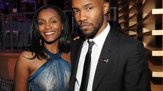 NEW YORK, NY - APRIL 29:  Katonya Breaux Riley and Frank Ocean attend the TIME 100 Gala, TIME's 100 most influential people in the world at Jazz at Lincoln Center on April 29, 2014 in New York City.  (Photo by Kevin Mazur/Getty Images for TIME)