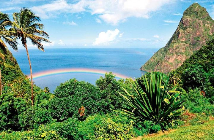 St Lucia's Piton mountains are World Heritage sites and the country's most photographed attractions.