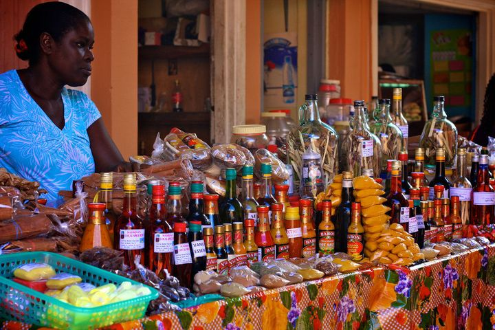 Castries market is a great place to buy some of St Lucias beautiful spices<i></i>