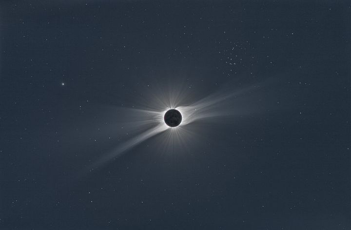 A 2008 solar eclipse.