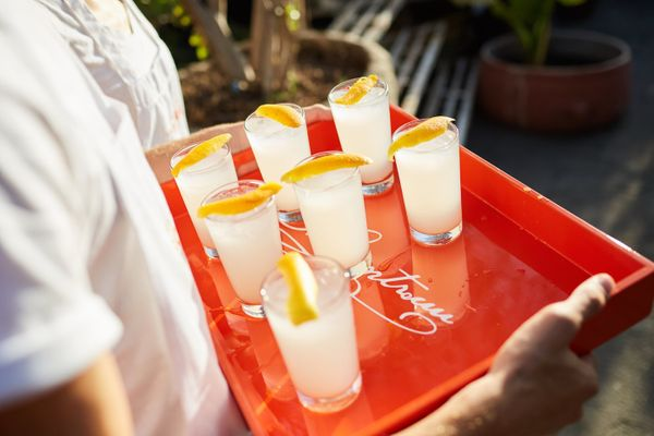 """""""One of my go-to cocktails right now is the Cointreau Rickey. It's a quick recipe you can make at home. Add a fla"""