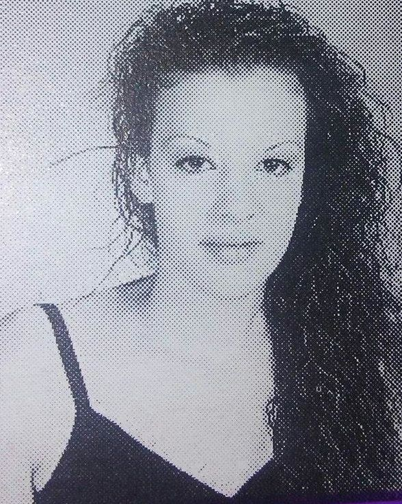Colleen Hunt as she appeared during her sophomore year at Canyon High School.