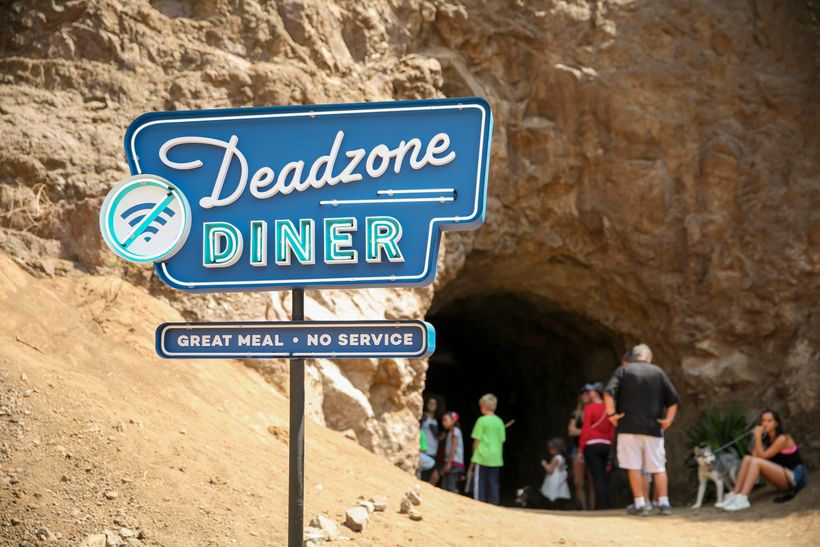 Bronson Cave in Los Angeles, a Deadzone Diner location.