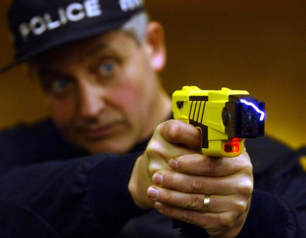 Some officers with tasers don't have body