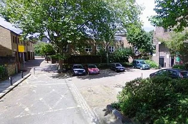 The woman was dragged into Heddingham Close in Islington north