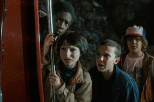 'Stranger Things' 2016: Lucas, Mike, Eleven and Dustin