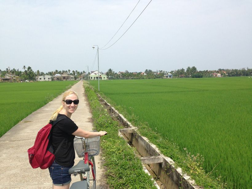 Exploring Vietnam by bicycle