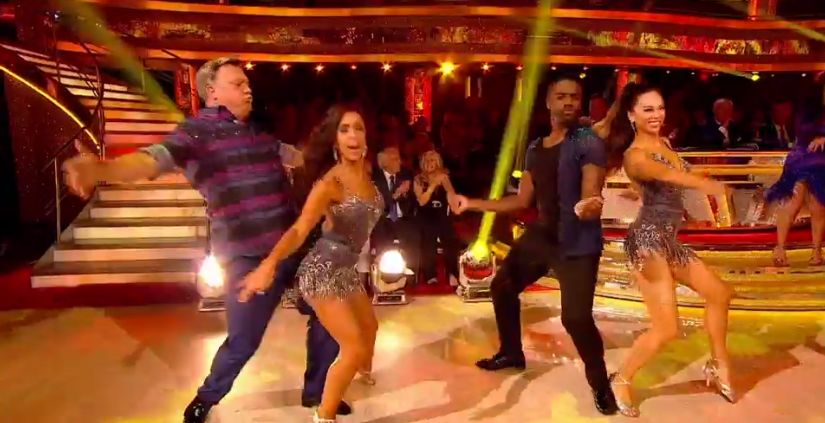 Ed Balls Danced Like No-One Was Watching On Strictly And It's TV
