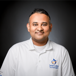 Shiva Rajagopalan, CEO & Founder of Seven Lakes Technologies