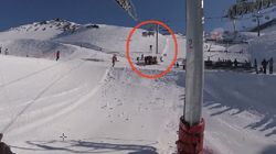 Rescue Team Saves Boy Dangling From Ski Lift In Dramatic