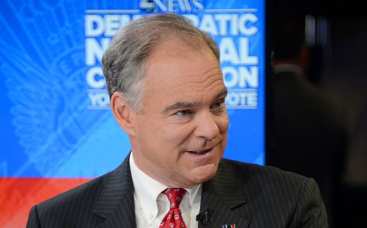 Tim Kaine criticized Donald Trump for encouraging Russia to hack Hillary Clinton.