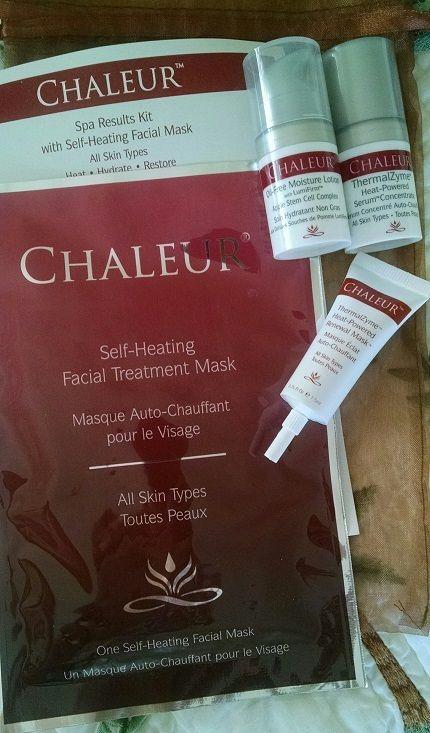 Chaleur Self-Heating Facial Treatment