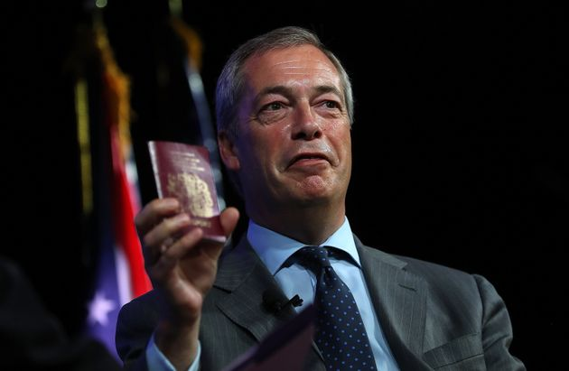 Nigel Farage on his recent trip to the