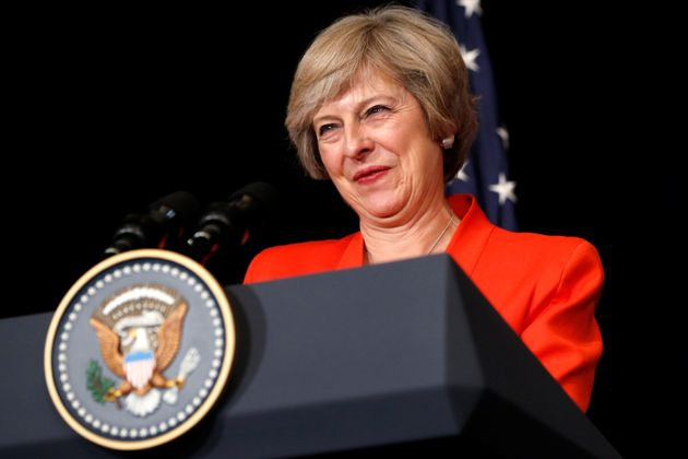 Prime Theresa May a bilateral meeting with U.S. President Barack Obama alongside the G20 Summit, in Ming...