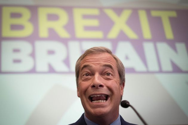 Nigel Farage was not particularlyimpressed with the latest