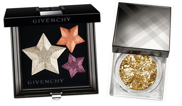 Givenchy Superstellar Le Prisme Eye Palette (£40.50), Burberry Gold Glitter Shimmer Dust