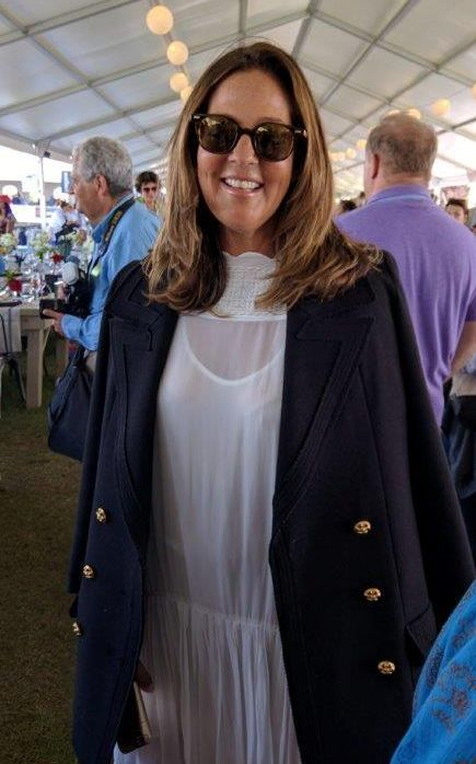 Kelly Klein is Secretary of the Hampton Classic Board of Directors