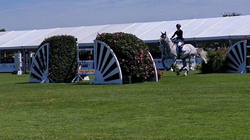 Riders competed on a course designed by Alan Wade
