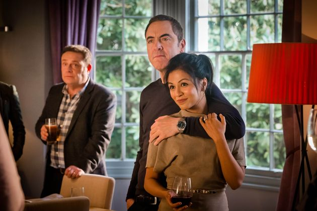 The return of 'Cold Feet' saw widower Adam embrace new love, much to his friends'