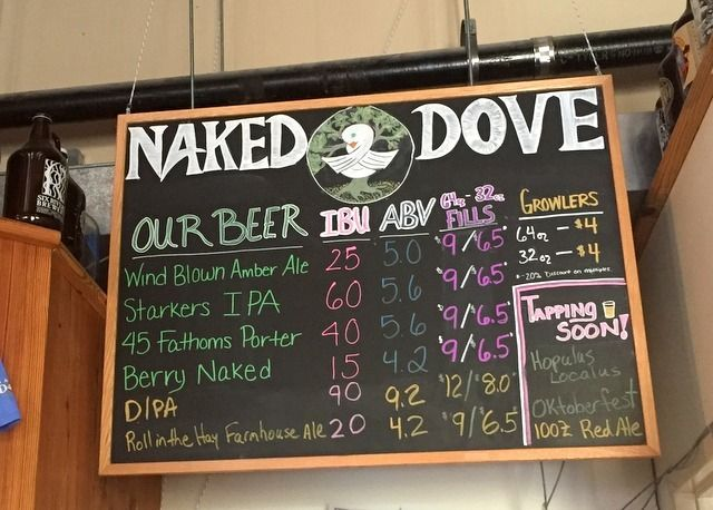 Naked Dove Brewery, Canandaigua Beer Trail