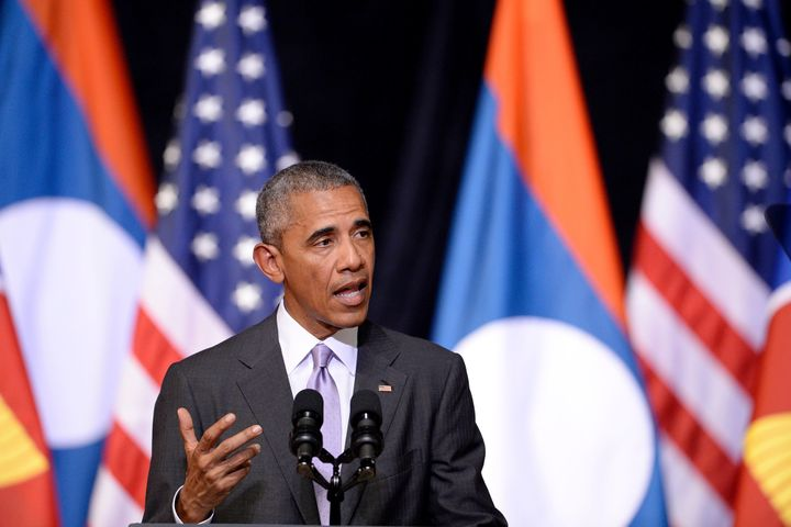 President Barack Obama says the firing of the missiles when leaders of the Group of 20 major economies are at a summit in Chi