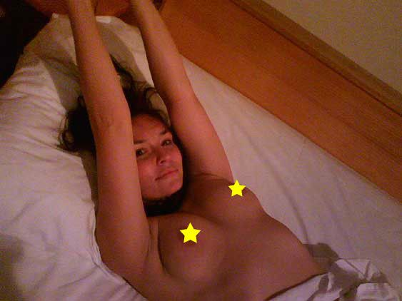 I don't usually place stars on my nipples.  I've done it to highlight the ridiculousness of censorship.