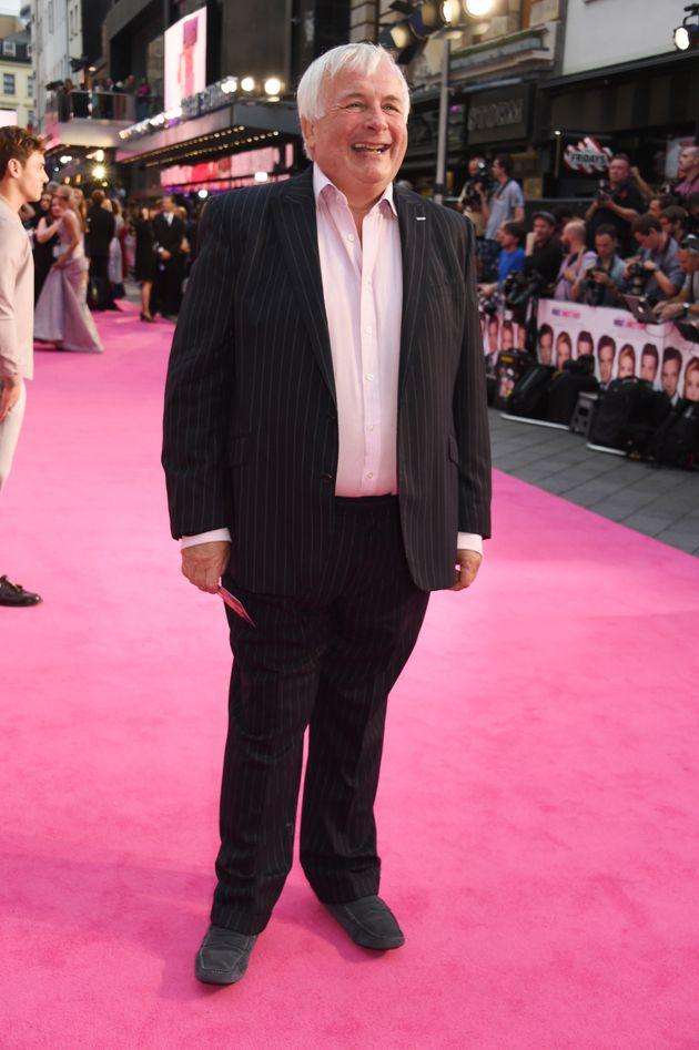 Christopher Biggins attends the 'Bridget Jones's Baby'