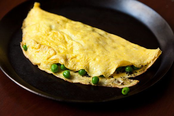 """<strong>Get the <a href=""""http://food52.com/recipes/4072-petite-pea-omelet-with-mint-and-mascarpone"""" target=""""_blank"""">Petite Pe"""