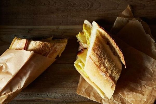 """<strong>Get the <a href=""""http://food52.com/recipes/22590-bocadillo-el-camino-spanish-omelet-sandwich-to-go"""" target=""""_blank"""">S"""