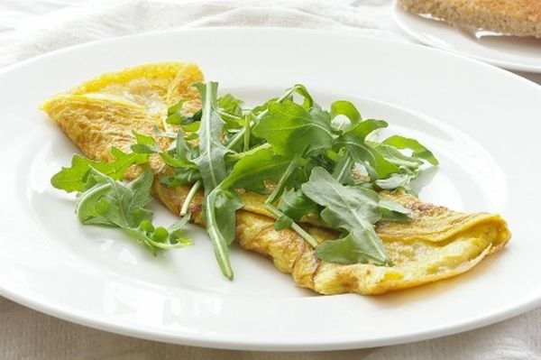 "<strong>Get the <a href=""http://chelseashealthykitchen.com/2015/01/08/shallot-gruyere-omelette/"" target=""_blank"">Shallot And"
