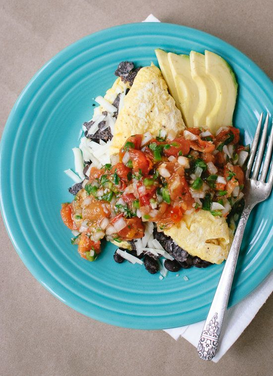 """<strong>Get the <a href=""""http://cookieandkate.com/2013/tex-mex-omelet-with-roasted-cherry-tomato-salsa/"""" target=""""_blank"""">Tex-"""