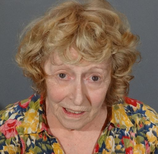 Donna Marie Higgins, 72, is accused of running down the toddler and his 15-year-old aunt as they were in a crosswalk.