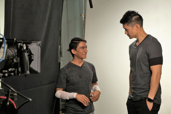Benjamin Yonattan and Harry Shum, Jr.