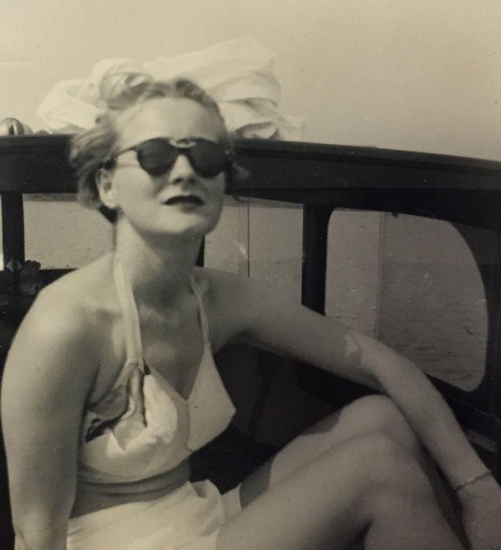 Caroline Bologna's grandmother,Milidean Sawyer
