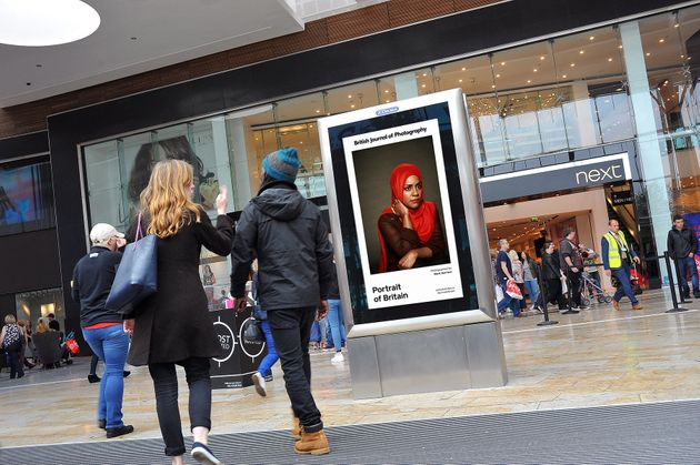 Adverts Replaced By Stunning Photo Exhibition To Reflect Diversity Of British