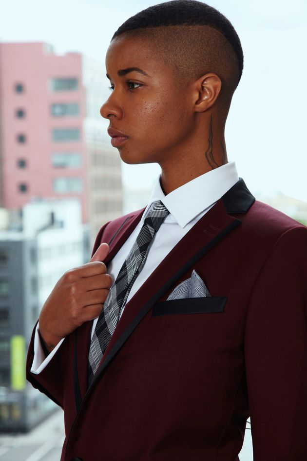 Sharpe Suiting creates suits for butch, androgynous and masculine-of-center