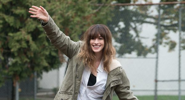 """Anne Hathaway tends to play straight-laced go-getters, making""""Colossal"""" something of a throwback to """"Rachel Getting Mar"""