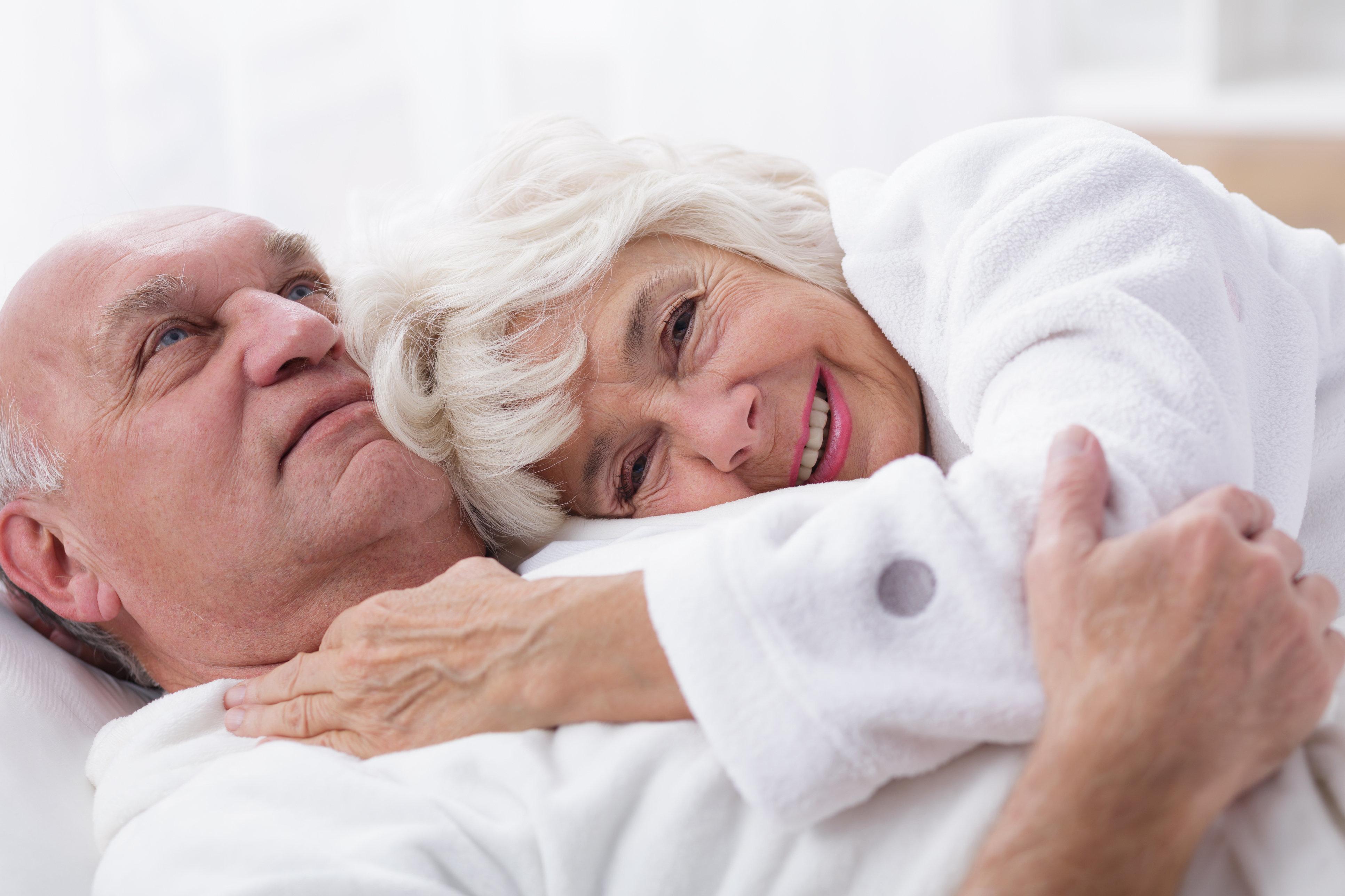 Секс с пожилыми беби