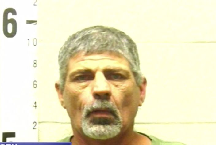 John Higdon was arrested after allegedly firing shots into the woods.